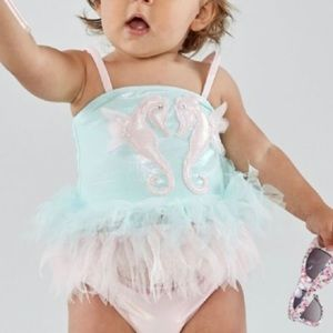 Kate Mack Sz 2T designer tutu swimsuit